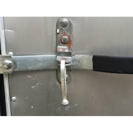 Cargo Door Lock Steel Heavy Combo Secures Trailer Lockout Container Fastener(5pcs)