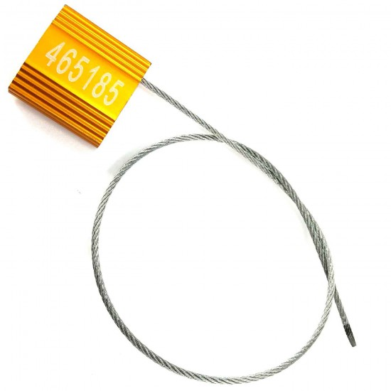 Disposable Lead Steel Wire Plug Wire Seals (Pack of 50Pcs)