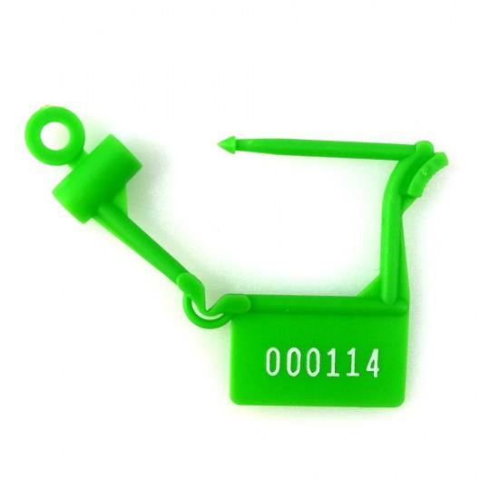 Plastic Padlock Security Seals (Pack of 100 pcs)