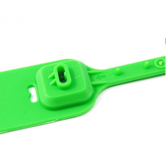 High Tensile Strength Security Plastic Seals(Pack of 100Pcs)